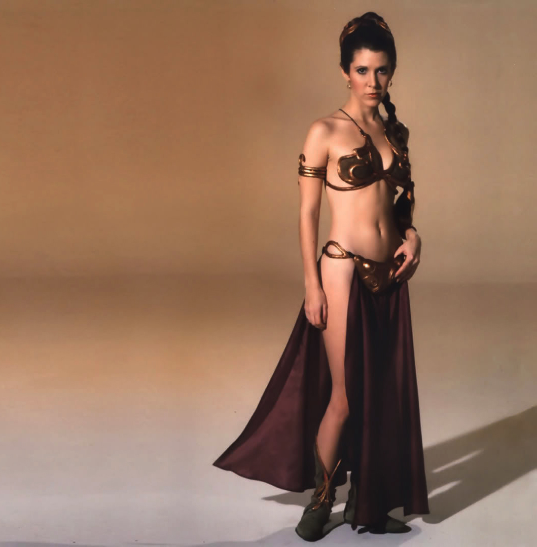 Carrie Fisher Hot Bikini Images, Looks Near-Naked