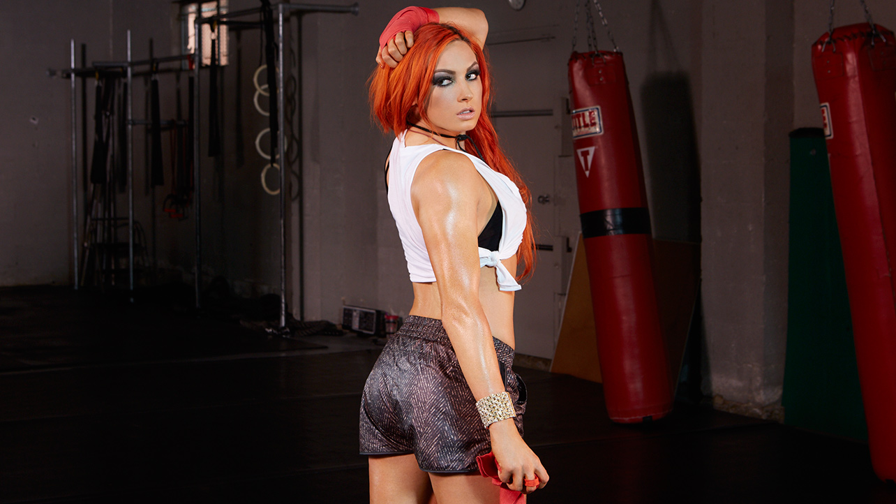 Becky Lynch Hot Photos, Near-Naked Bikini Images