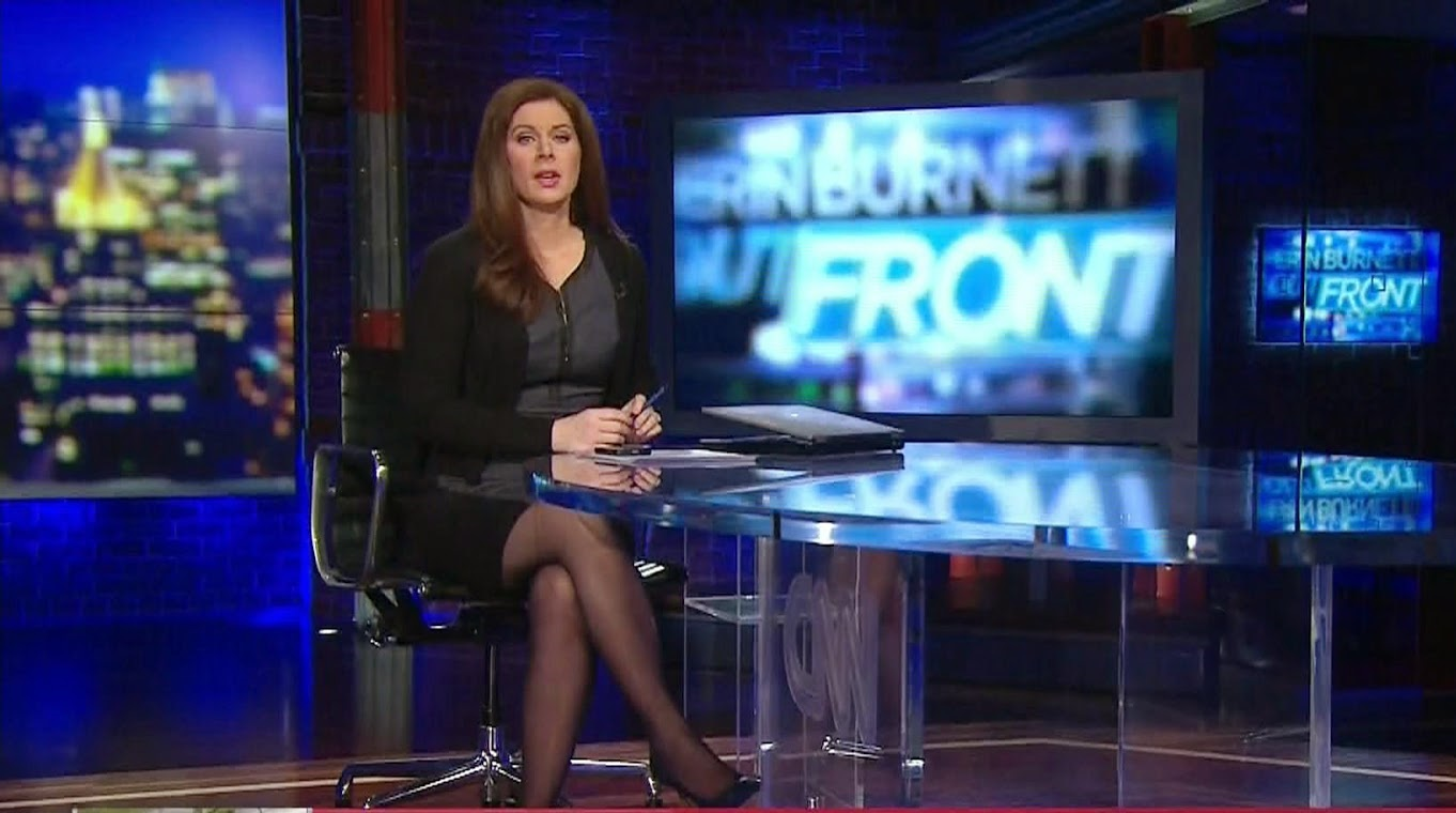 Erin Burnett Hot Bikini Pics, News Host Kissing Scene 13