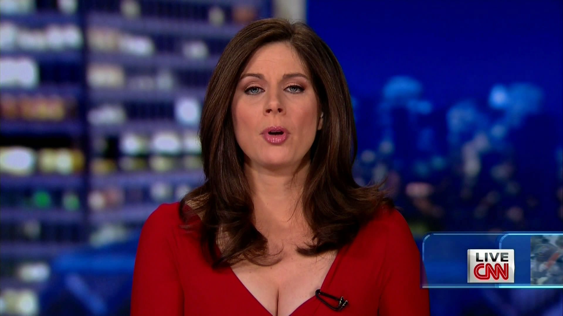 Erin Burnett Hot Bikini Pics, News Host Kissing Scene 16