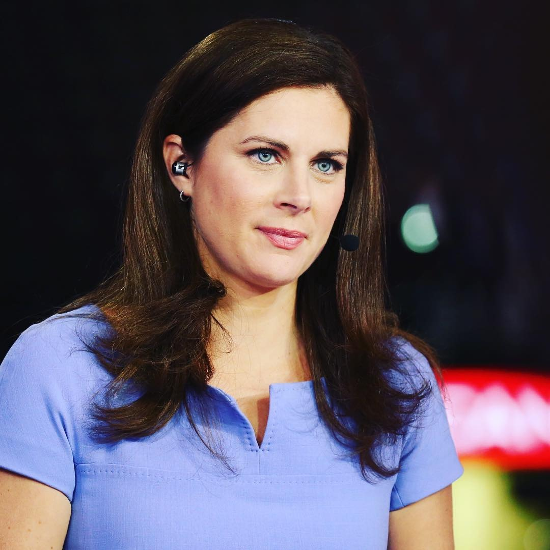 Erin Burnett Hot Bikini Pics, News Host Kissing Scene 17