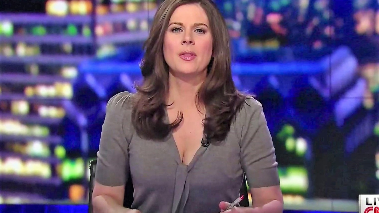 Erin Burnett Hot Bikini Pics, News Host Kissing Scene 21