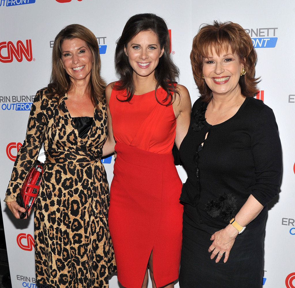 Erin Burnett Hot Bikini Pics, News Host Kissing Scene 22
